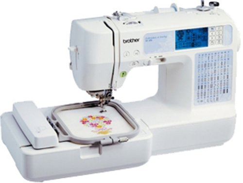 Domestic embroidery machines
