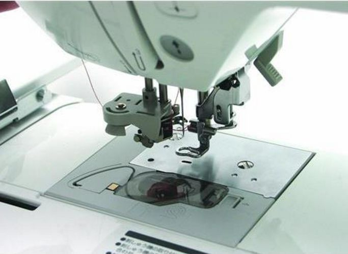 automatic threading on embroidery machines