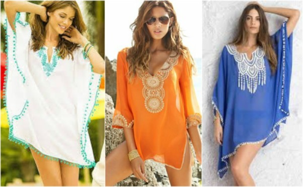 18f0d856ff Raise Your Beach Style Game With Embroidered Swimsuit Cover-ups