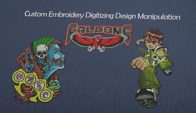 Custom Embroidery Digitizing Design Manipulation Absolute Digitizing