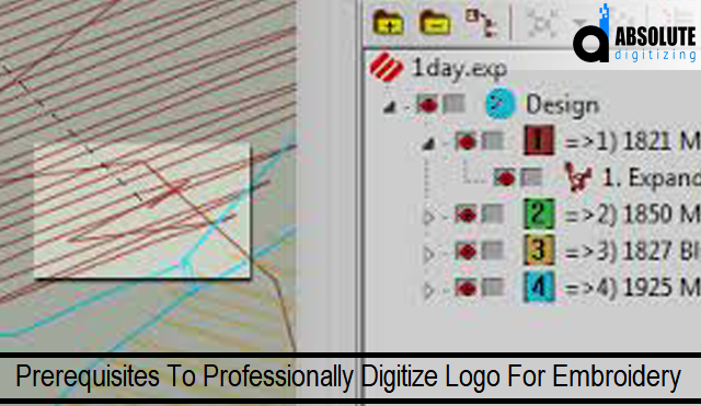 Prerequisites To Professionally Digitize Logo For Embroidery
