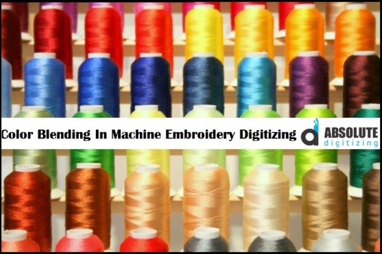 color blending embroidery