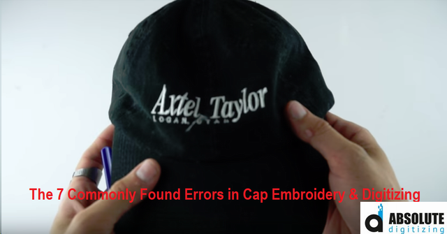 The 7 Commonly Found Errors in Cap Embroidery & Digitizing - Absolute Digitizing