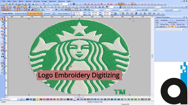 Logo Digitizing Embroidery