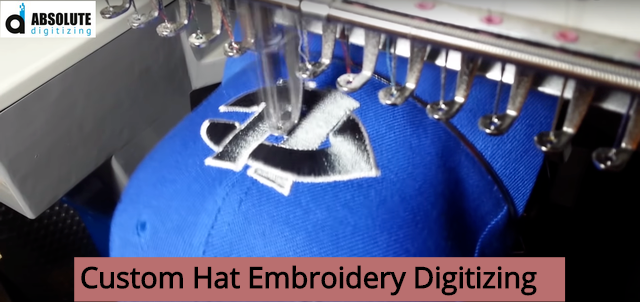 Custom Hat Embroidery Digitizing