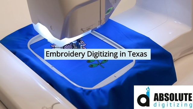 Embroidery Digitizing in Texas