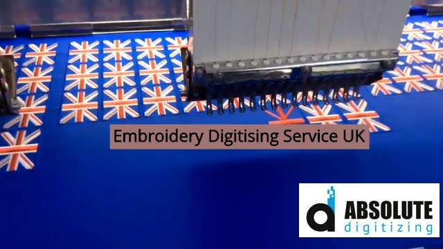 Embroidery Digitising Service UK