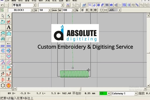 Custom Embroidery & Digitising Service