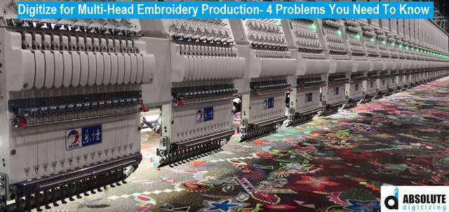 Multihead Embroidery Machine