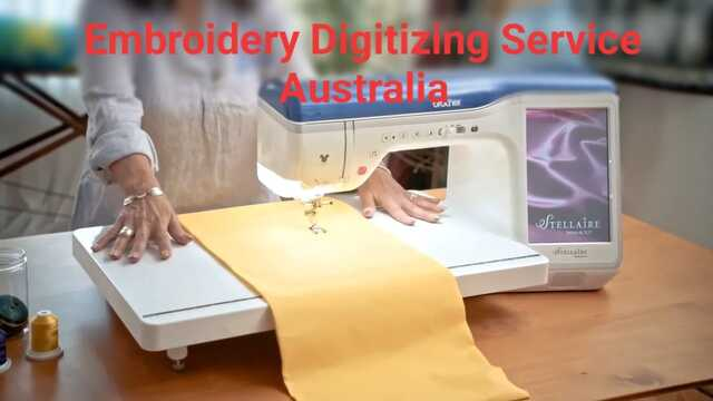 Embroidery Digitizing Service Australia