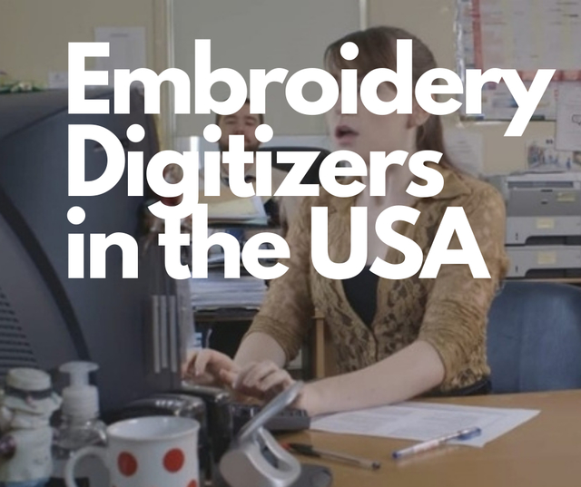 Embroidery Digitizers in the USA