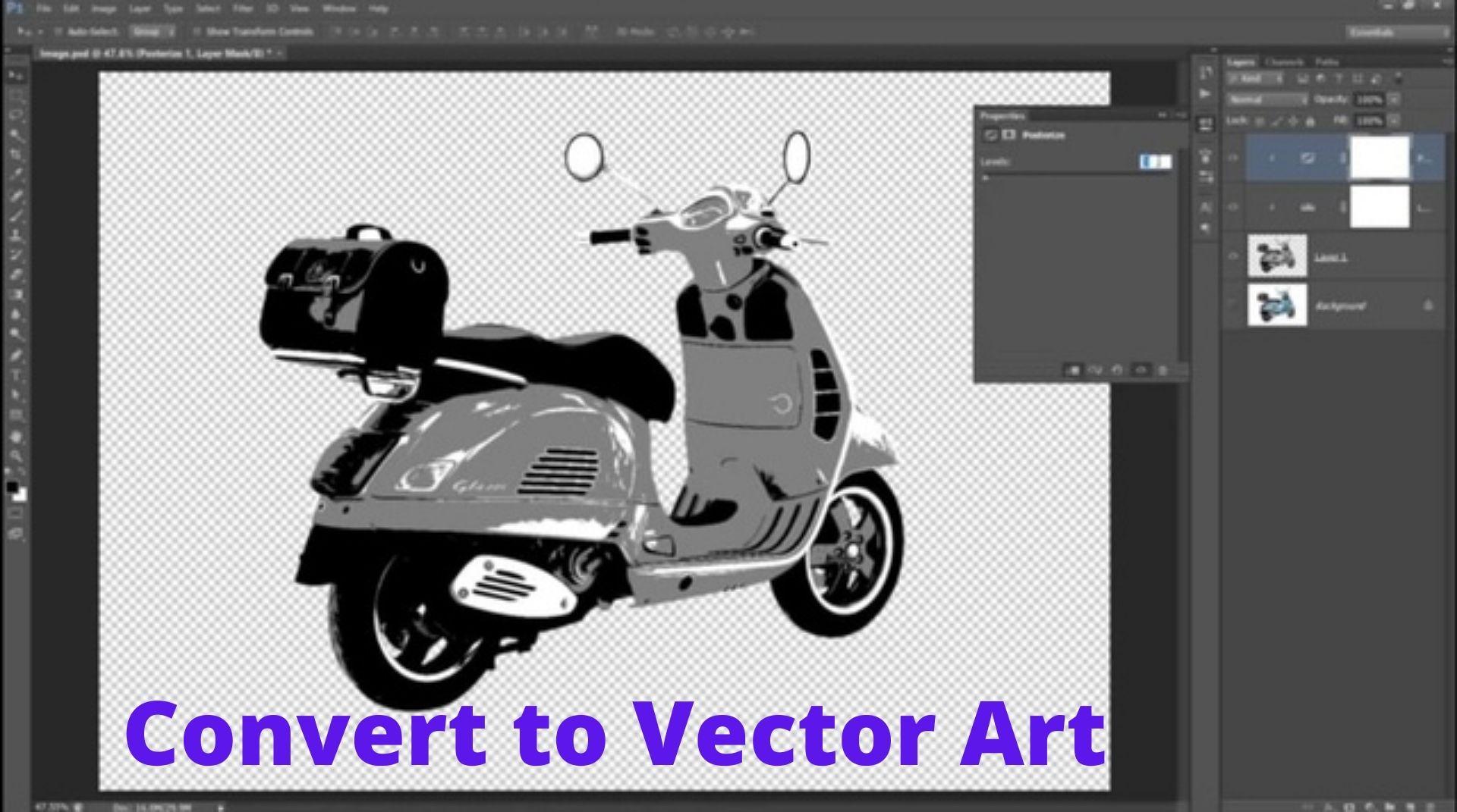Convert to Vector Art
