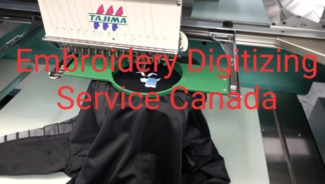 Embroidery Digitizing Service Canada