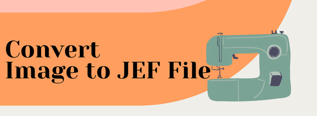Convert Image to JEF File