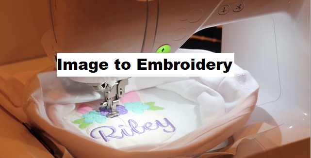 Image to Embroidery