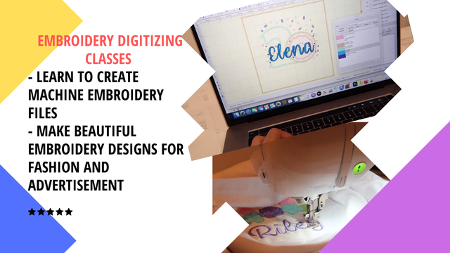 Embroidery Digitizing Classes