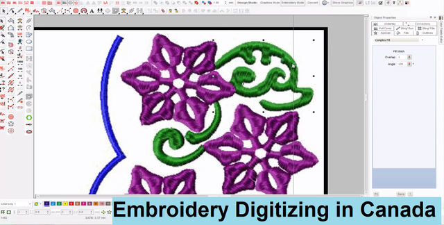 Embroidery Digitizing in Canada