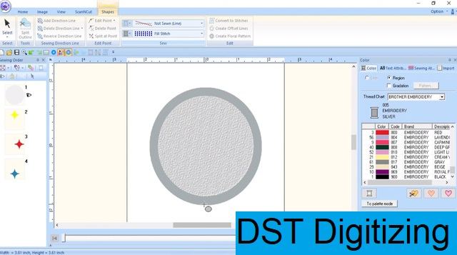 DST Digitizing