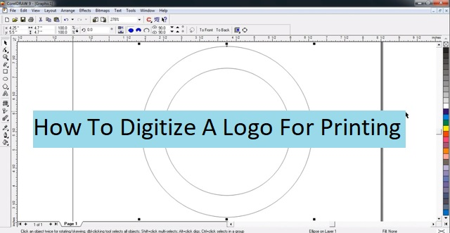 How To Digitize A Logo For Printing