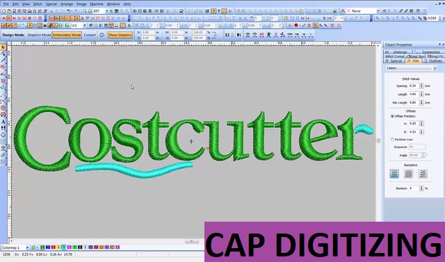 cap digitizing