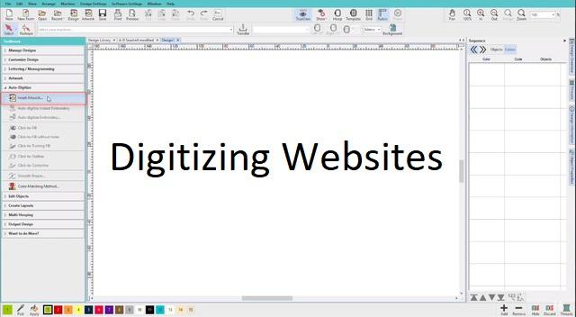 Digitizing Websites