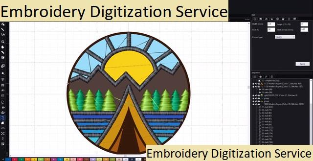 Embroidery Digitization Service