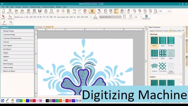 Digitizing Machine