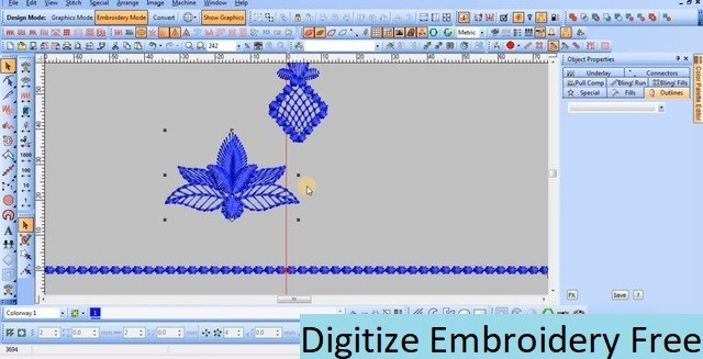 Digitize Embroidery Free