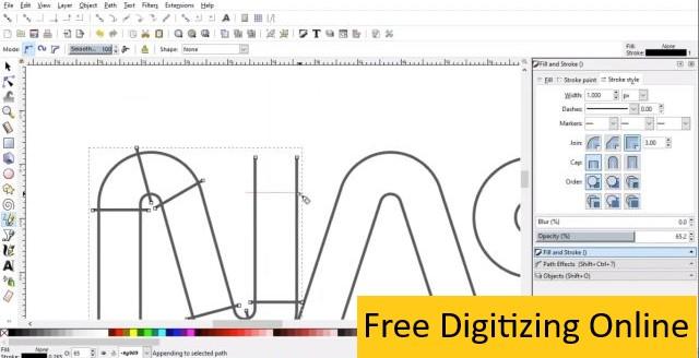 Free Digitizing Online
