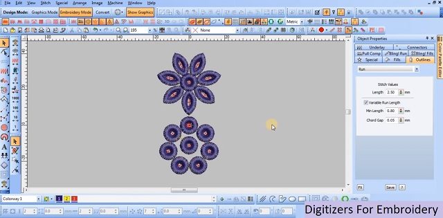 Digitizers For Embroidery