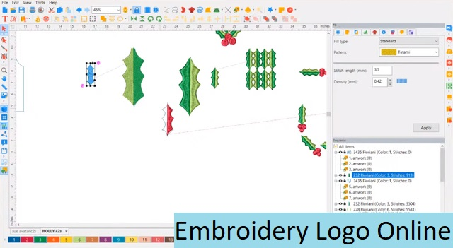 Embroidery Logo Online