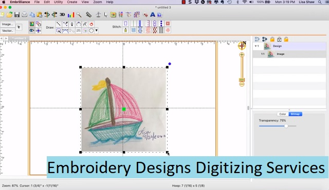 Embroidery Designs Digitizing Services