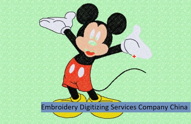 Embroidery Digitizing Services Company China