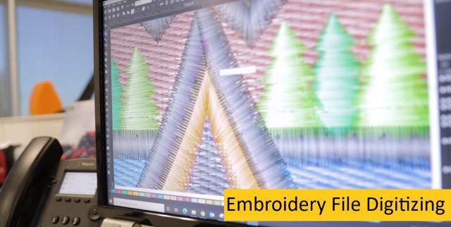 Embroidery File Digitizing