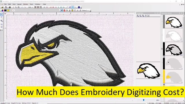 How Much Does Embroidery Digitizing Cost