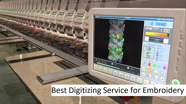 Best Digitizing Service for Embroidery